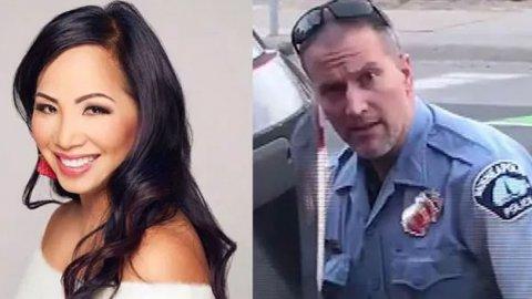 George Floyd'u öldüren polisin eşi boşanma davası açıyor