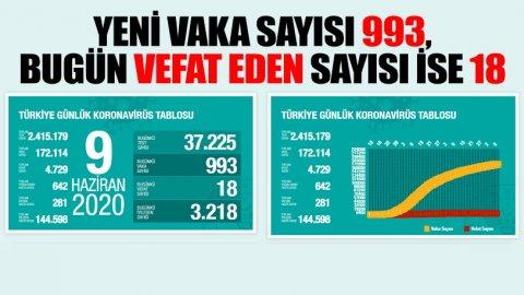 Türkiye'de koronavirüsten can kaybı 4 bin 729'a yükseldi
