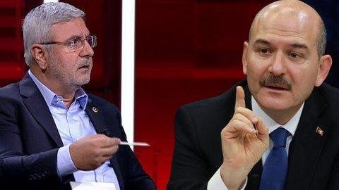 Süleyman Soylu ile tartışan Mehmet Metiner o tweetini sildi, veda ...