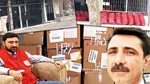 Kızılay'da depo vurgunu! 100'den fazla TIR yardım malzemesi