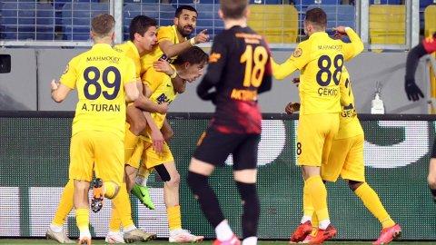 Ankaragücü - Galatasaray maçından kareler