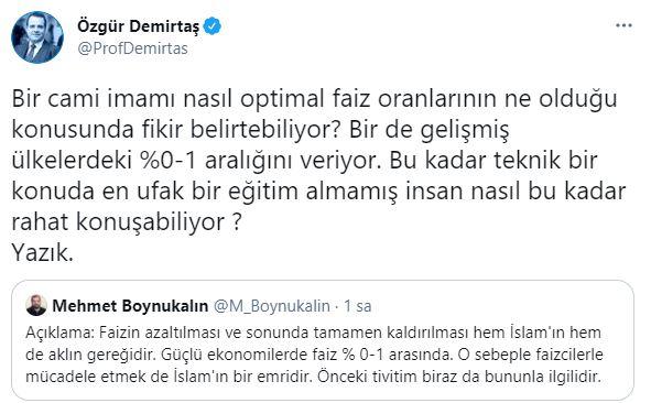 Ayasofya imamı ekonomi yorumu yaptı, Özgür Demirtaş çıldırdı! - Gerçek Gündem