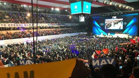 AKP'nin salgını unuttuğu 7. Olağan Kongresi'nden kareler