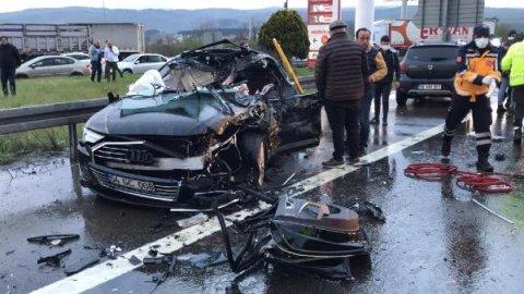Düzce'de TEM yolunda 12 aracın karıştığı zincirleme kaza: 8 yaralı - Gerçek  Gündem