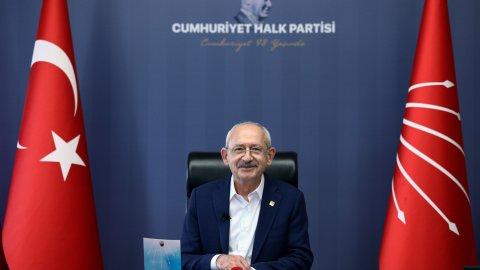Kılıçdaroğlu, 23 Nisan'da çocuklarla bir araya geldi