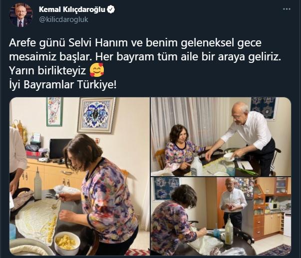 Kılıçdaroğlu ailesinin bayram hazırlığı - Gerçek Gündem