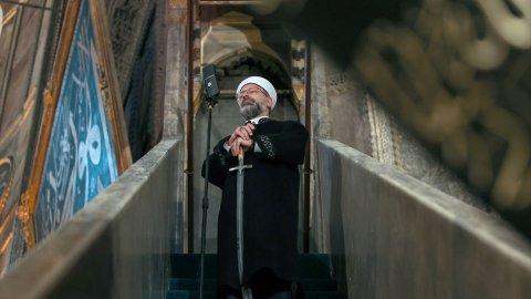 Ali Erbaş'tan bir kılıçlı hutbe daha