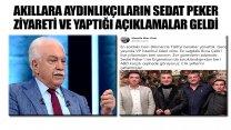 'İlk defa burada açıklıyorum' diyen Doğu Perinçek'ten Sedat Peker iddiası