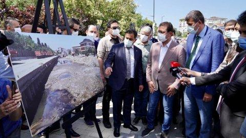 Ekrem İmamoğlu Kadıköy Kurbağalıdere'de vatandaşlarla buluştu