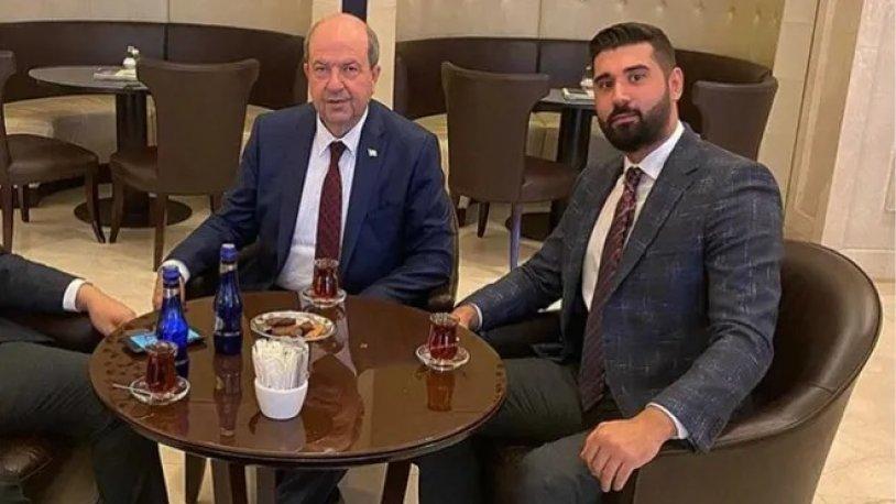 KKTC Cumhurbaşkanı Tatar'ın 'Tanımam' dediği ismin babası KKTC temsilcisi çıktı!