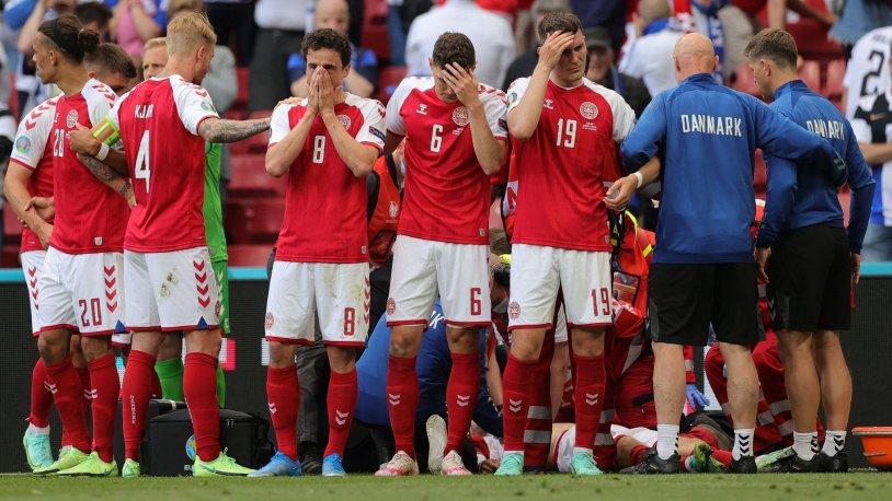 UEFA'dan Danimarka - Finlandiya maçı hakkında karar