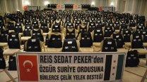 Sedat Peker'in iddiaları sonrası Suriye cephesinden flaş açıklama!