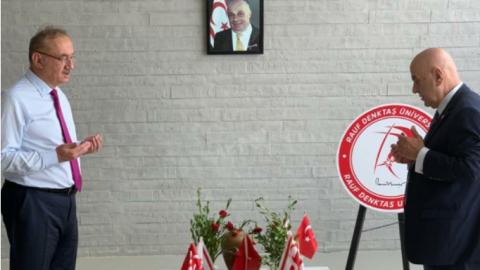 KKTC'de protokol krizi: Erdoğan'ın misafirleri kontenjanı doldurunca İYİ Parti heyeti töreni terk etti