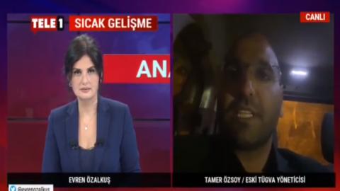 TÜGVA belgelerini sızdıran Tamer Özsoy, konuştu: 'Buzdağının yüzde 1'i, belgeler ortadan kaldırılabilir'